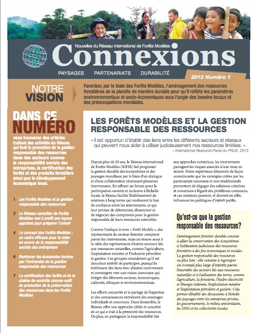 Connexions Issue 1 2013